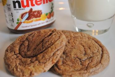 PB Nutella Cookies