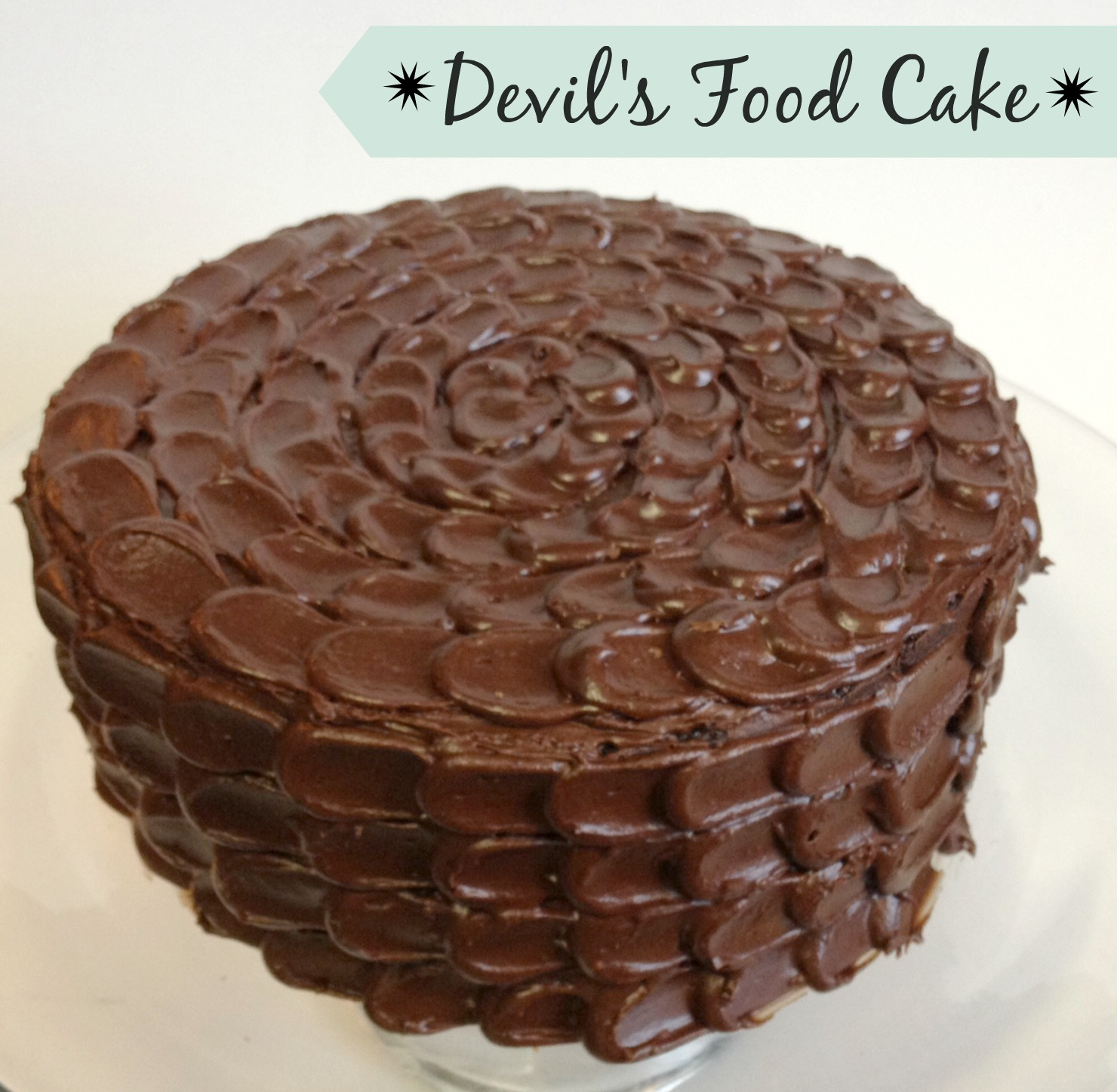 Cooking A-Z: D is for Devil's Food Cake | Sweets Eats and Crafts