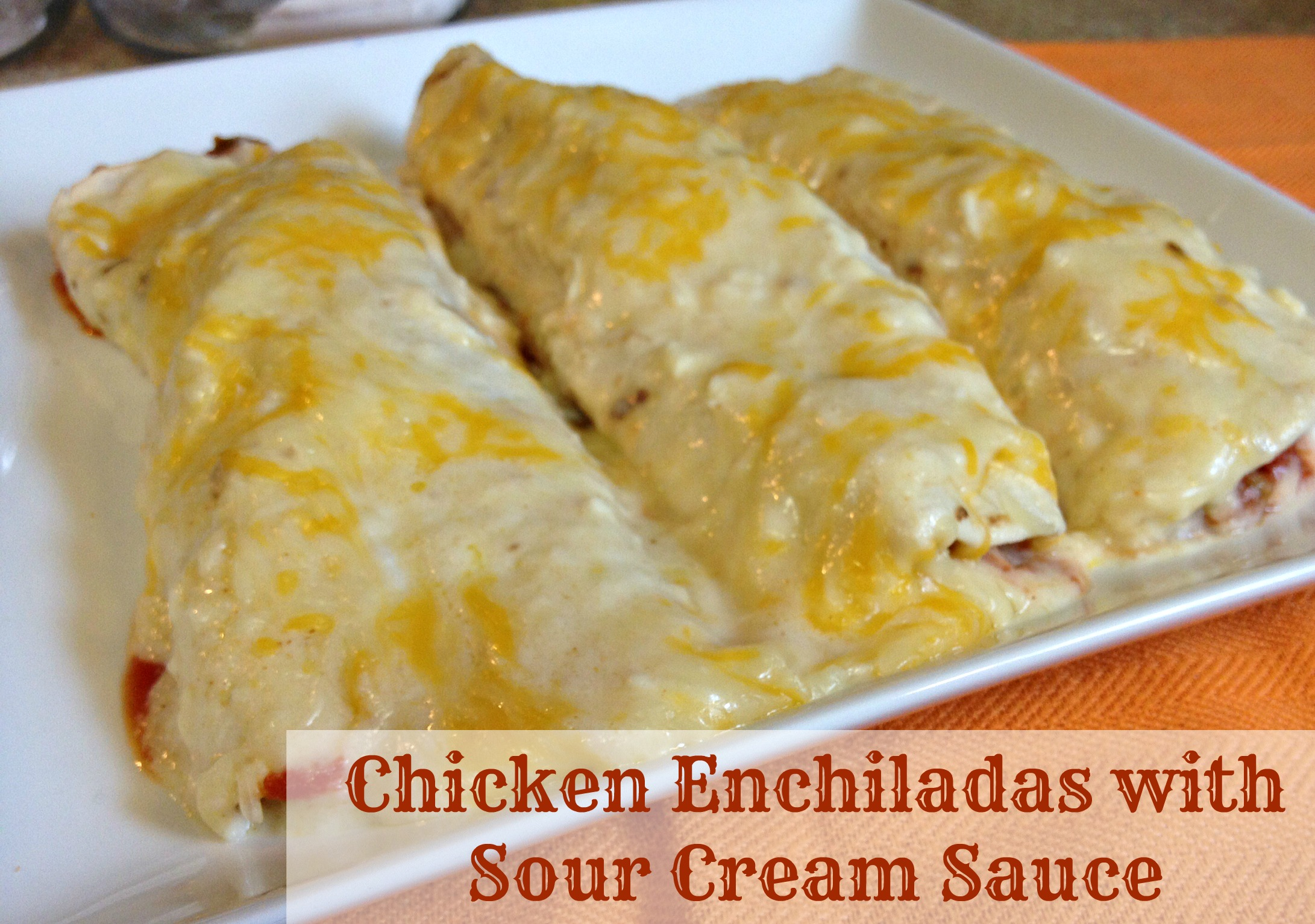 Chicken Enchiladas II Recipe — Dishmaps